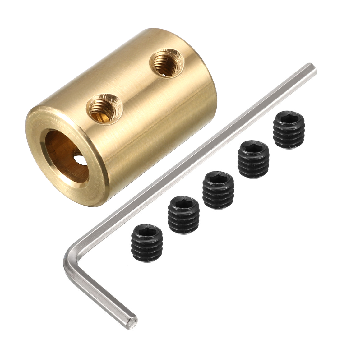 5mm to 8mm Copper DIY Motor Shaft Coupling Joint Adapter for Electric Car Toy