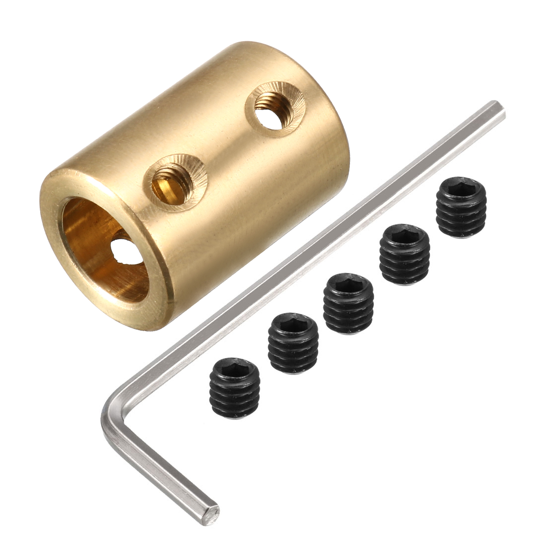 8mm to 10mm Copper DIY Motor Shaft Coupling Joint Adapter for Electric Car Toy