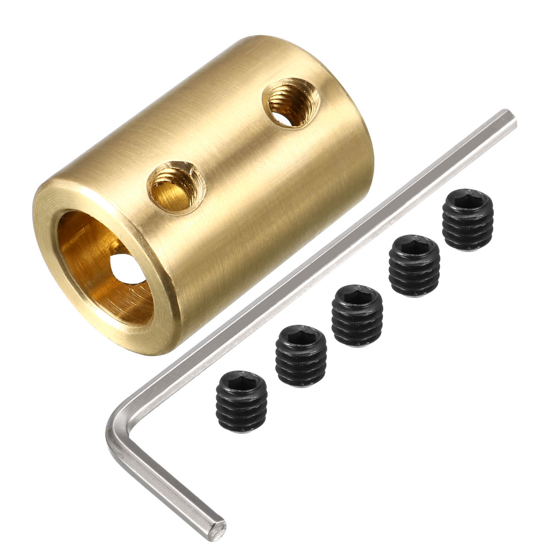 6mm to 10mm Copper DIY Motor Shaft Coupling Joint Connector for Electric Car Toy