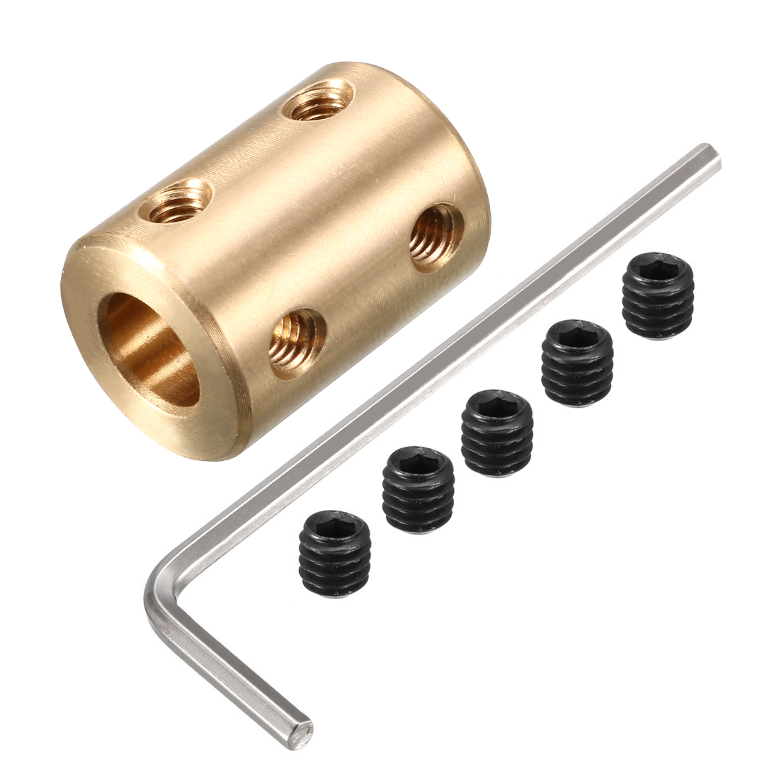 5mm to 8mm Copper DIY Motor Shaft Coupling Joint Adapter for Electrical Car Toy