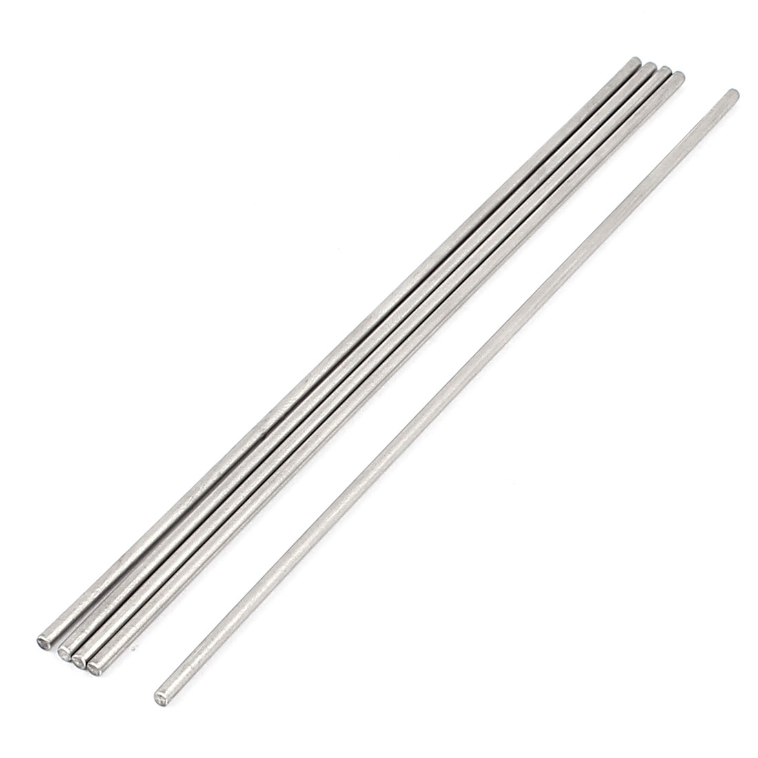 5 Pcs 3mm x 200mm DIY RC Car Toy Model Straight Metal Round Shaft Rod Bars
