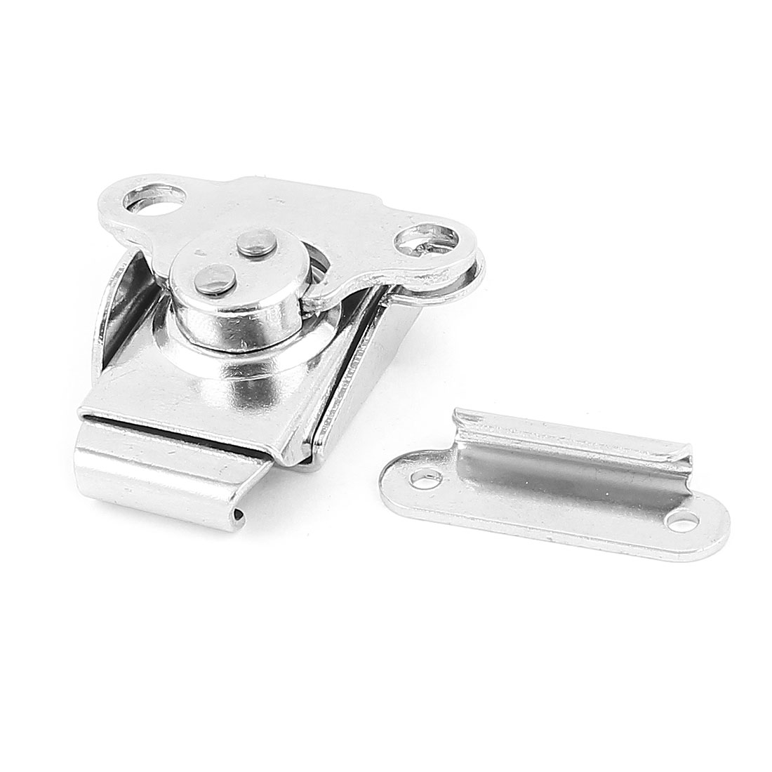 Boxes Case Toggle Clamp Locking Latch Silver Tone 46mm x 44mm x 15mm