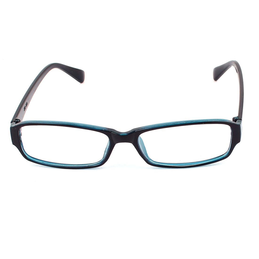 Clear Lens Full Rim Single Bridge Eyewear Plain Plano Glasses Spectacles