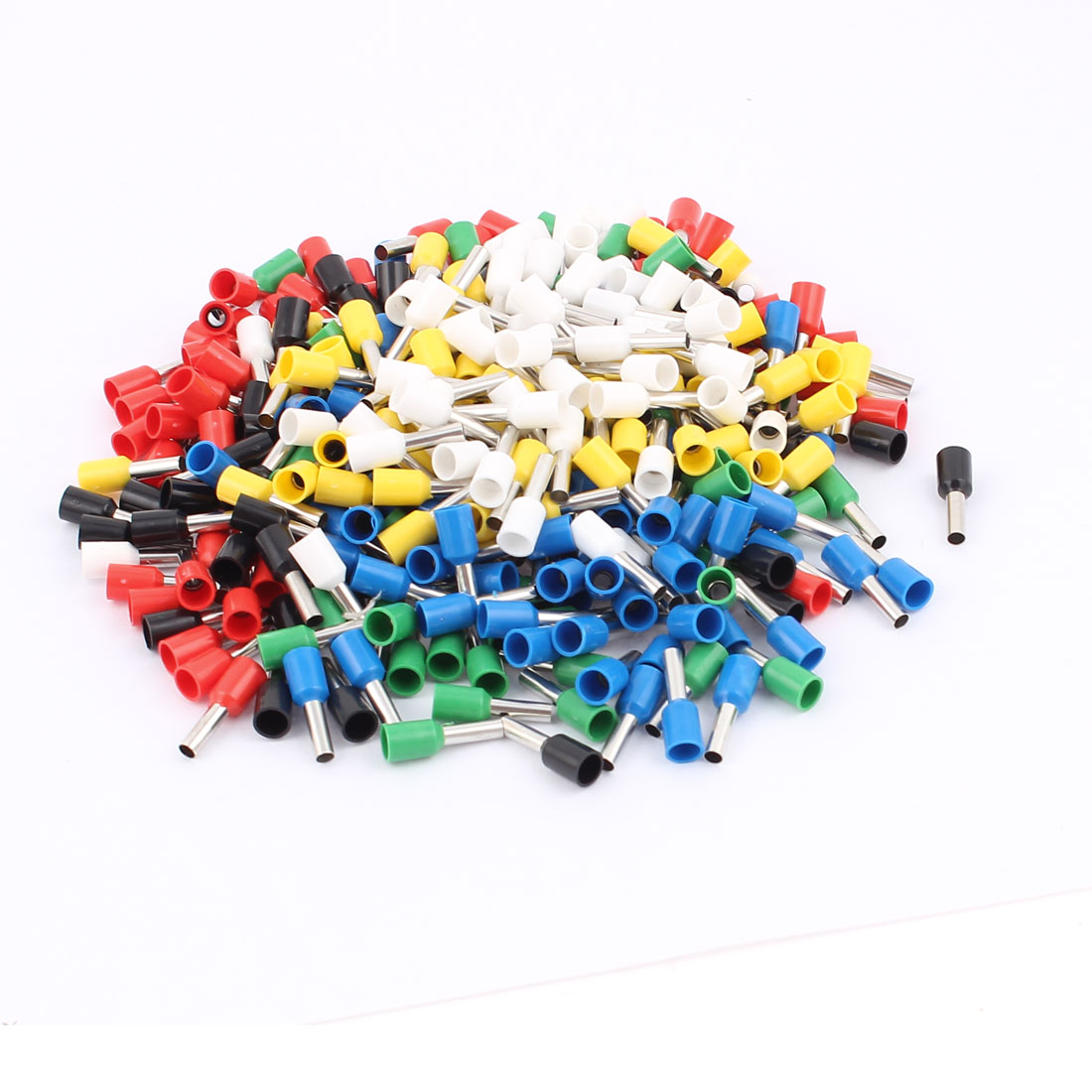 360Pcs E2508 14AWG Plastic Tube Insulated Cable Wire Ends Terminals