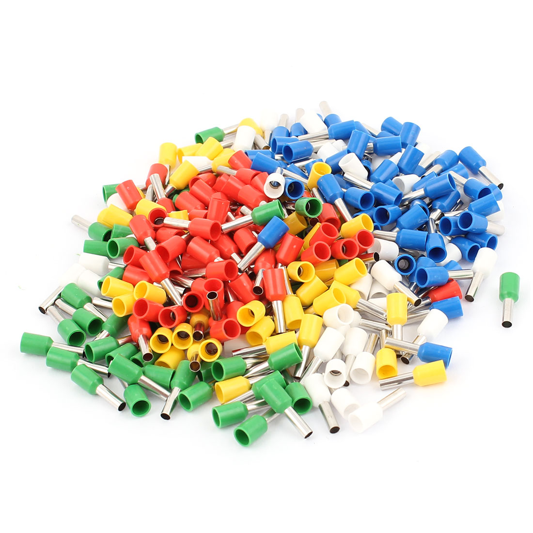 360Pcs E2508 14AWG Tube Tublar Style Insulated Cable Wire Ends Terminals