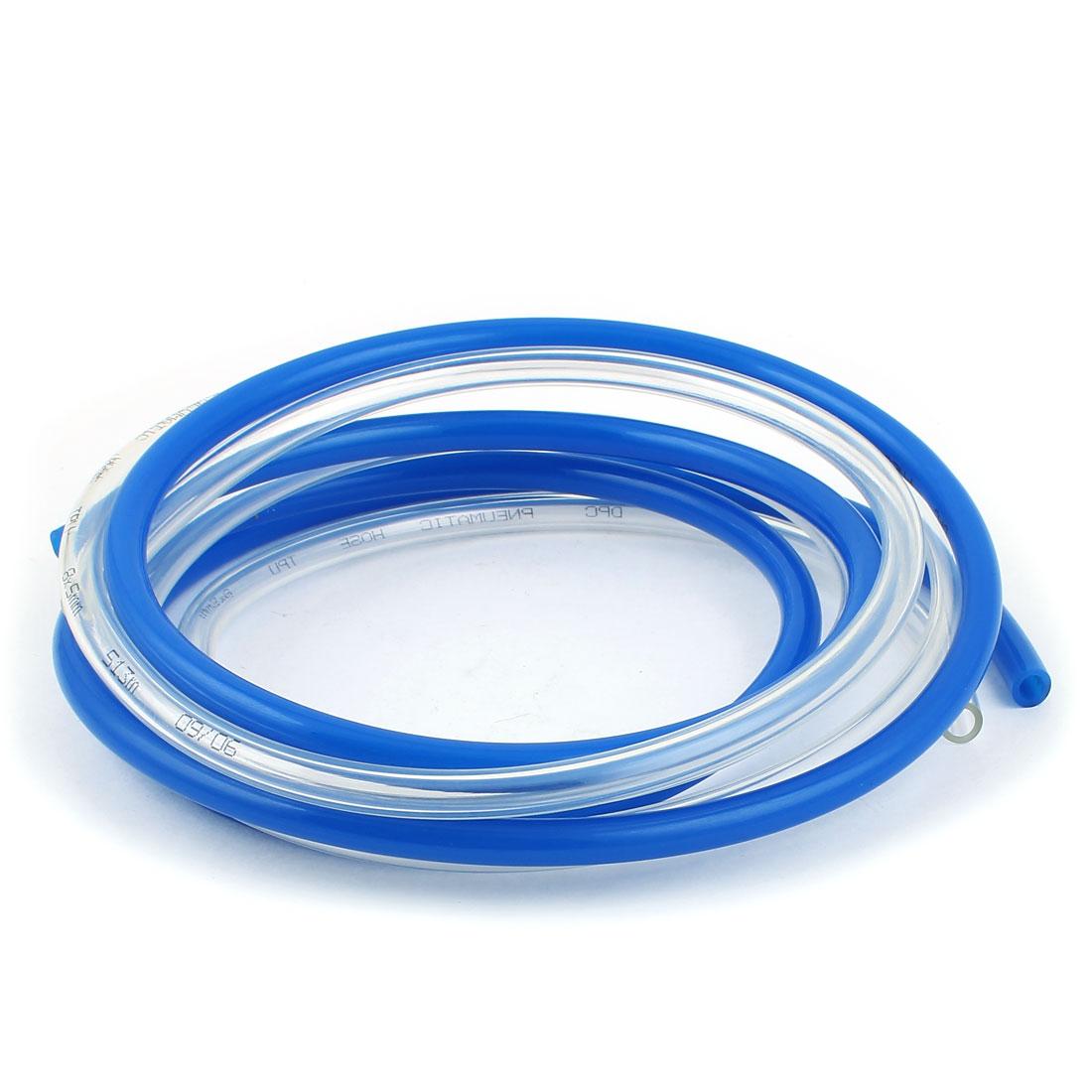 PU Polyurethane Flexible Air Tubing Pneumatic Pipe Tube Hose 8x5mm 1.58M 2Pcs