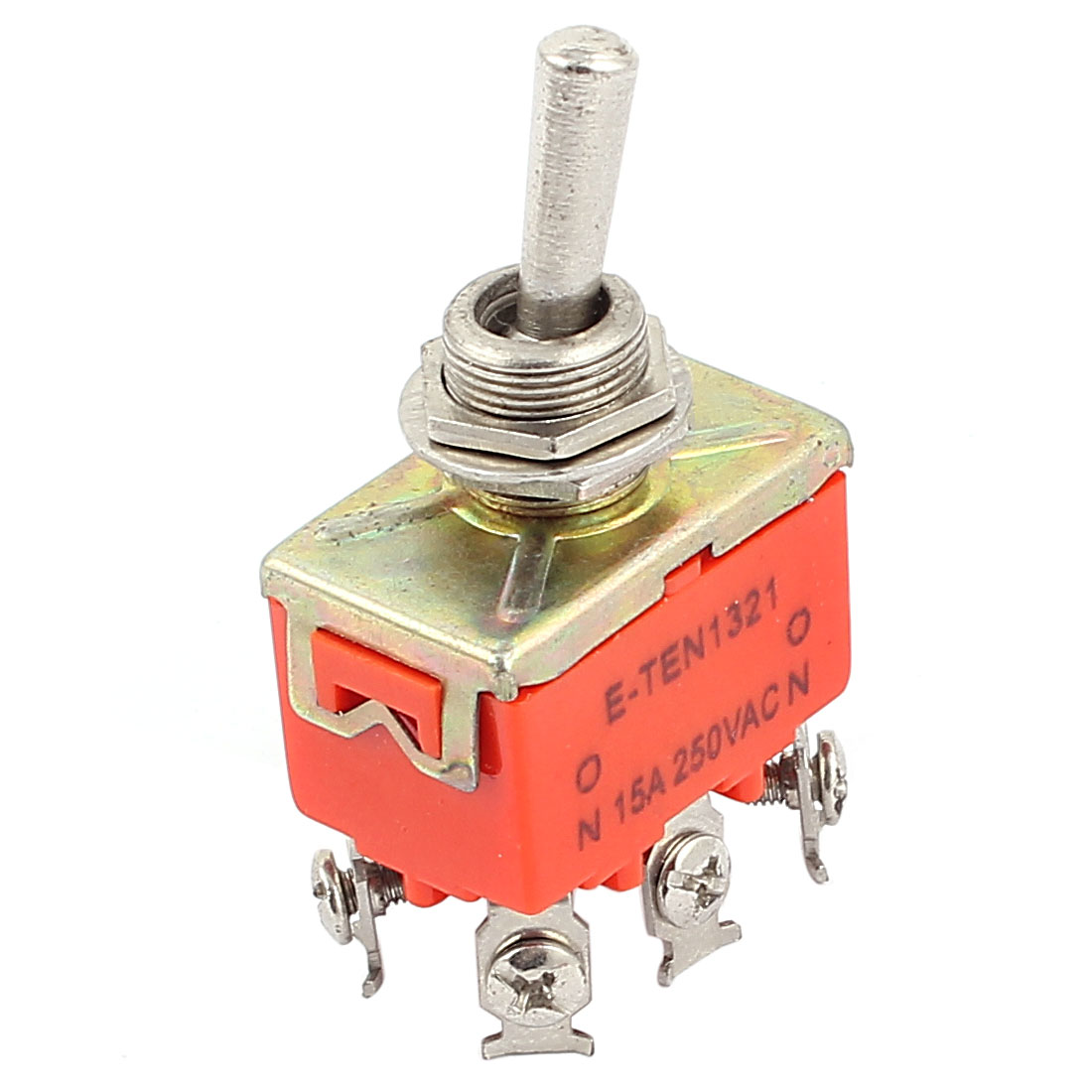 AC 250V 15A DPDT 6 Terminals 2 Position ON-ON Micro Toggle Switch