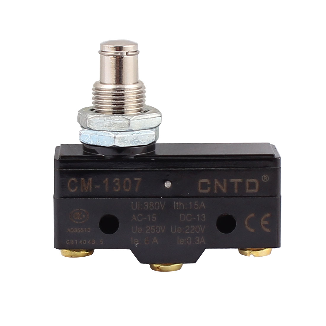 AC 380V 15A SPDT Momentary High Push Plunger Micro Switch Microswitch