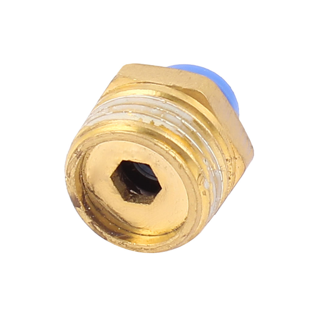 1/2PT x 8mm Straight Pipe Hose Connector Air Pneumatic Quick Coupler Coupling Fitting Joint