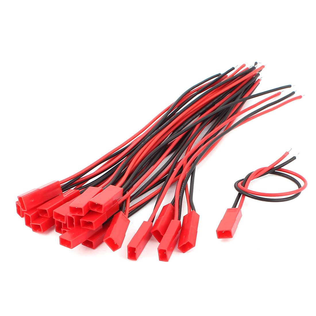 20Pcs JST RC Model Male Socket Connector Cable Wires