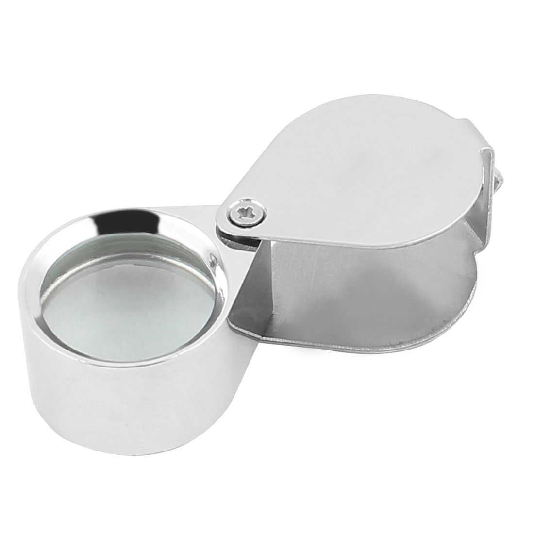 5X Glass Magnifying Lens Foldable Magnifier Jeweler Eye Jewelry Loupe Loop 21mm