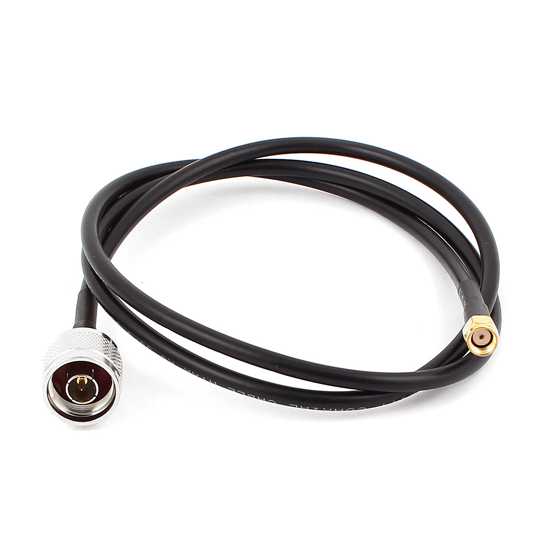 N Male to RP-SMA Female Adapter RG58 RF Pigtail Coaxial Cable 1M