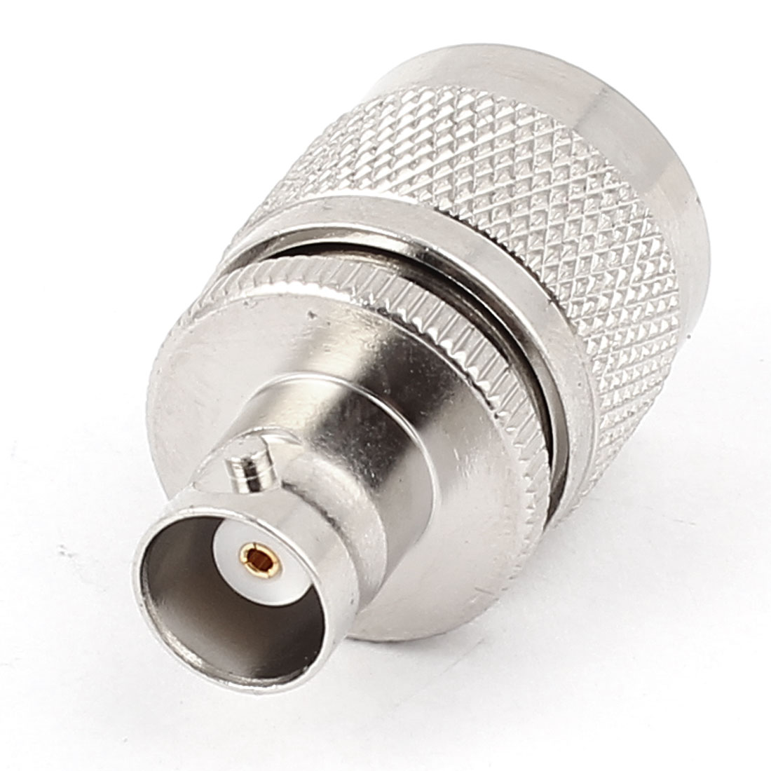 BNC Female to N Type Male Straight Cable Crimp RF Coaxial Connector