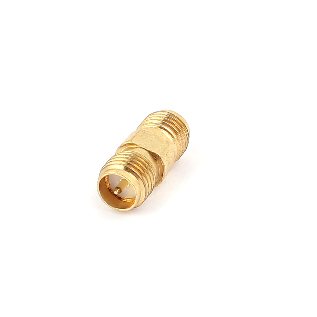 Straight SMA Reverse-polarised Male to Male RF Coaxial Adaptor