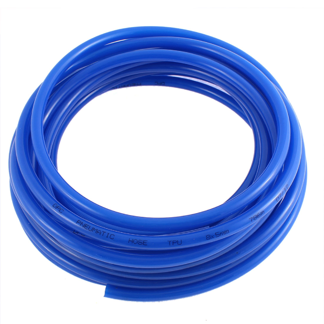 5mm x 8mm Blue Polyurethane Flexible Air Compressor Tubing Tube PU Pipe Hose 7.8M 26ft Long