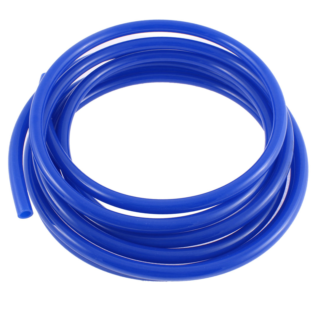 4.8M 16ft Long 12mm x 8mm Blue Polyurethane Flexible Air Tube PU Tubing Pneumatic Pipe Hose