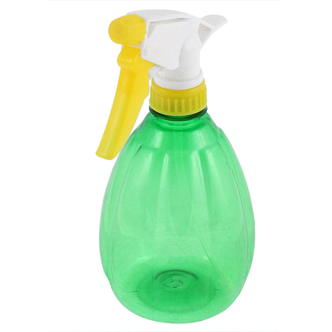 Plastic Hairdressing Flowers Plants Watering Water Trigger Sprayer Spray Bottle Green 500ml