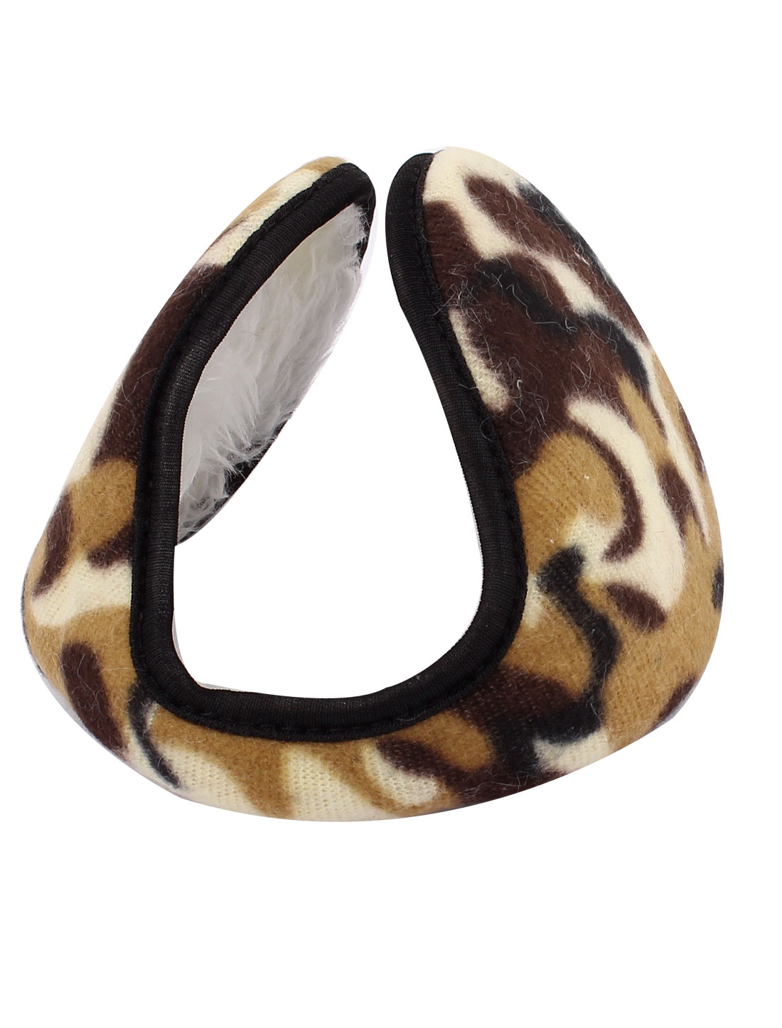 Winter Outdoor Sports Tiger Print Fleece Earmuffs Ear Warmer Cover Wrap Colorful