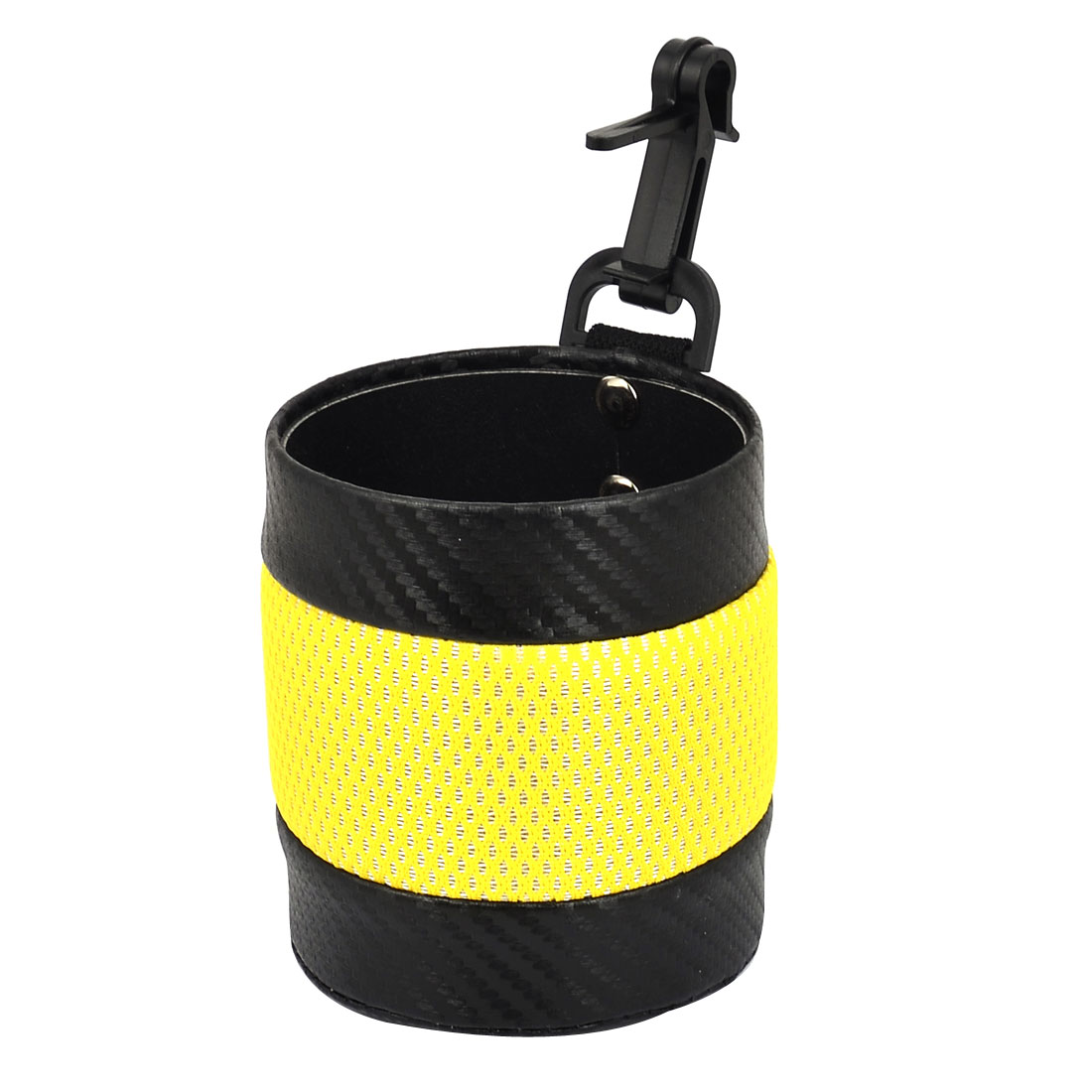 Auto Car Vehicle Air Vent Mount Phone GPS Pocket Bag Pouch Holder Yellow Black