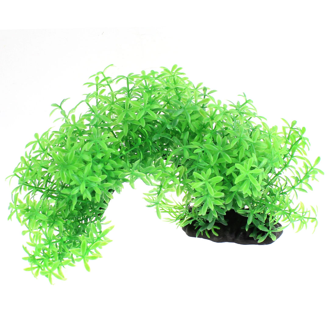Aquarium Fish Tank Artificial Plastic Water Plant Tree Ornament Landscape Green