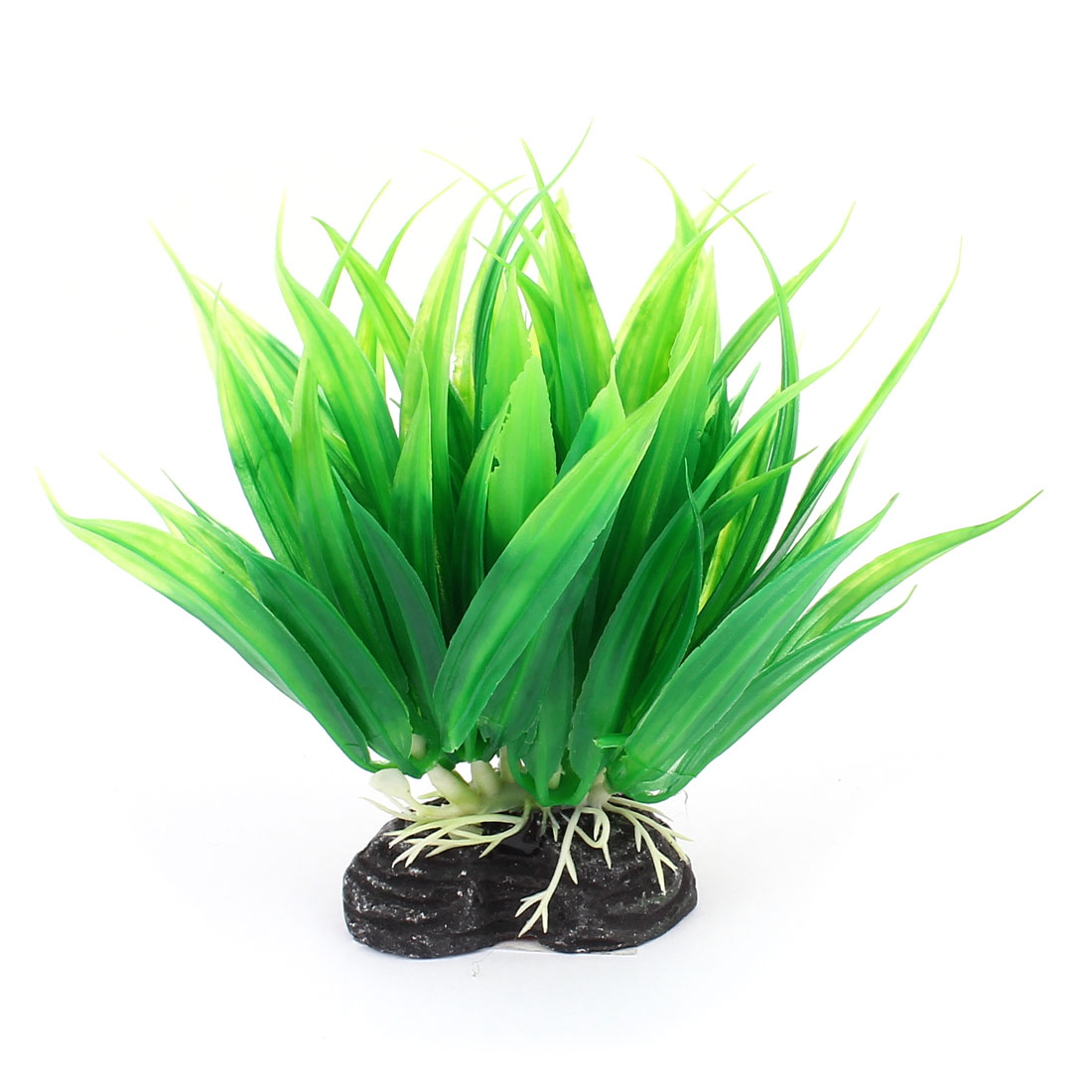 Aquarium Fish Tank Plastic Artificial Water Plant Grass Ornament Landscape Green