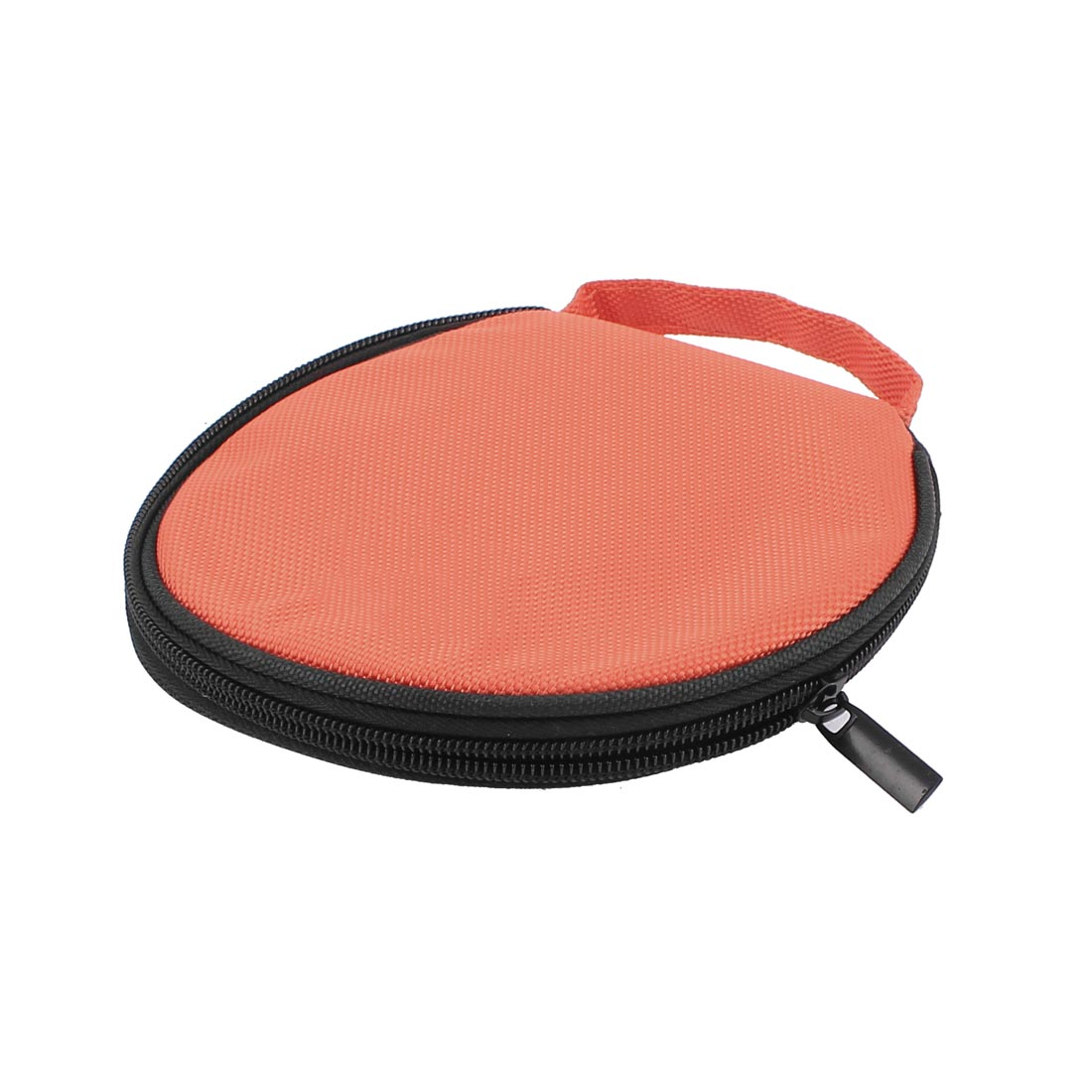 Nylon CD DVD 20 Disc Storage Carry Case Holder Cover Pouch Bag Black Orange