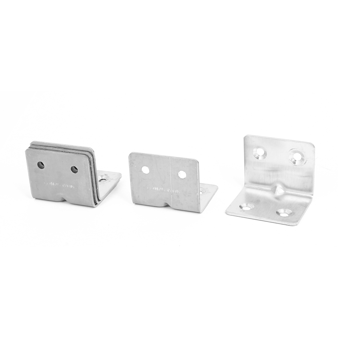L Shape Shelf Wall Corner Brace Plate Right Angle Brackets 30mmx30mmx38mm 5pcs