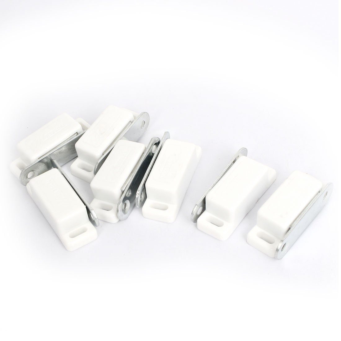 Cupboard Cabinet Closet Door Magnetic Latch Catch 46mm Length 7pcs