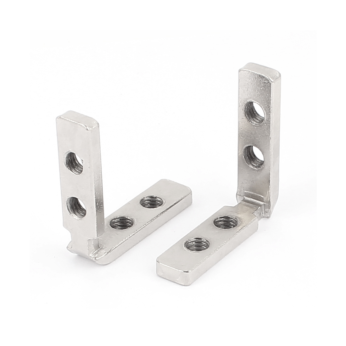 50mmx50mm Shelf Support Corner Brace Joint Metal Right Angle Bracket 2pcs