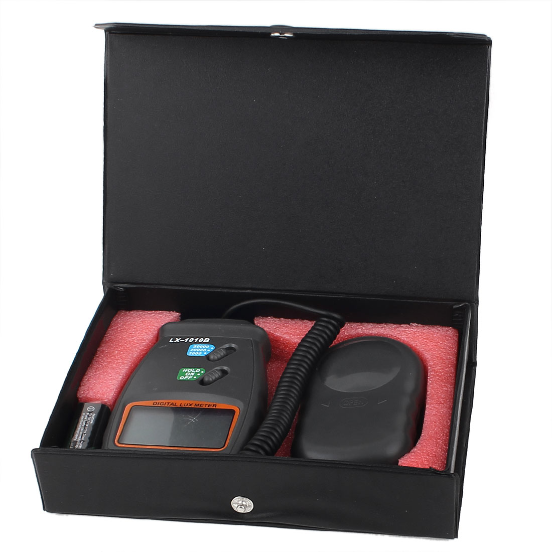 50,000 Lux Digital Light Meter Luxmeter Luminometer Photometer High Accuracy LCD Display