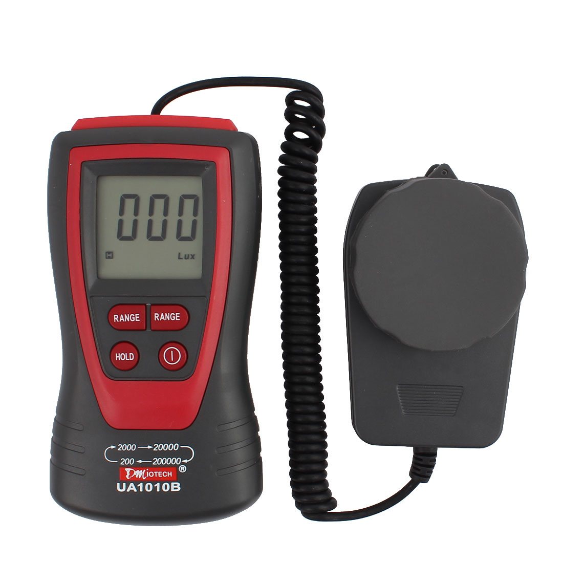 200,000 Lux Digital Light Meter Luxmeter Luminometer Photometer High Accuracy LCD Display