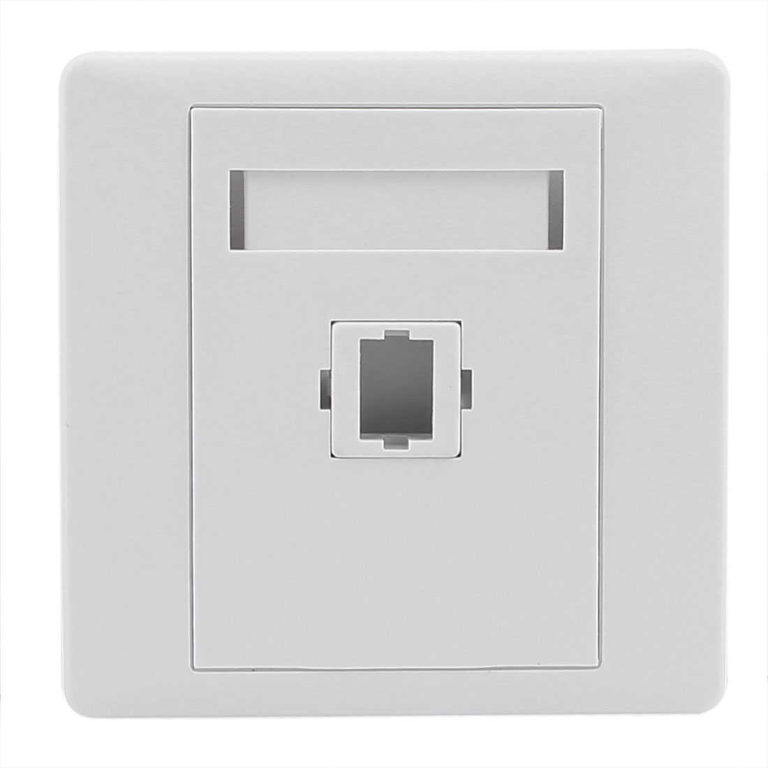 SC Fiber Optical Cord Connector Mount Sockets Wall Plate Panel