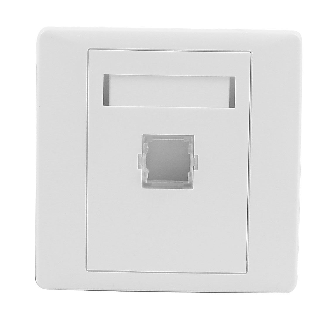 LC Fiber Optical Cord Connector Mount Sockets Wall Plate Panel