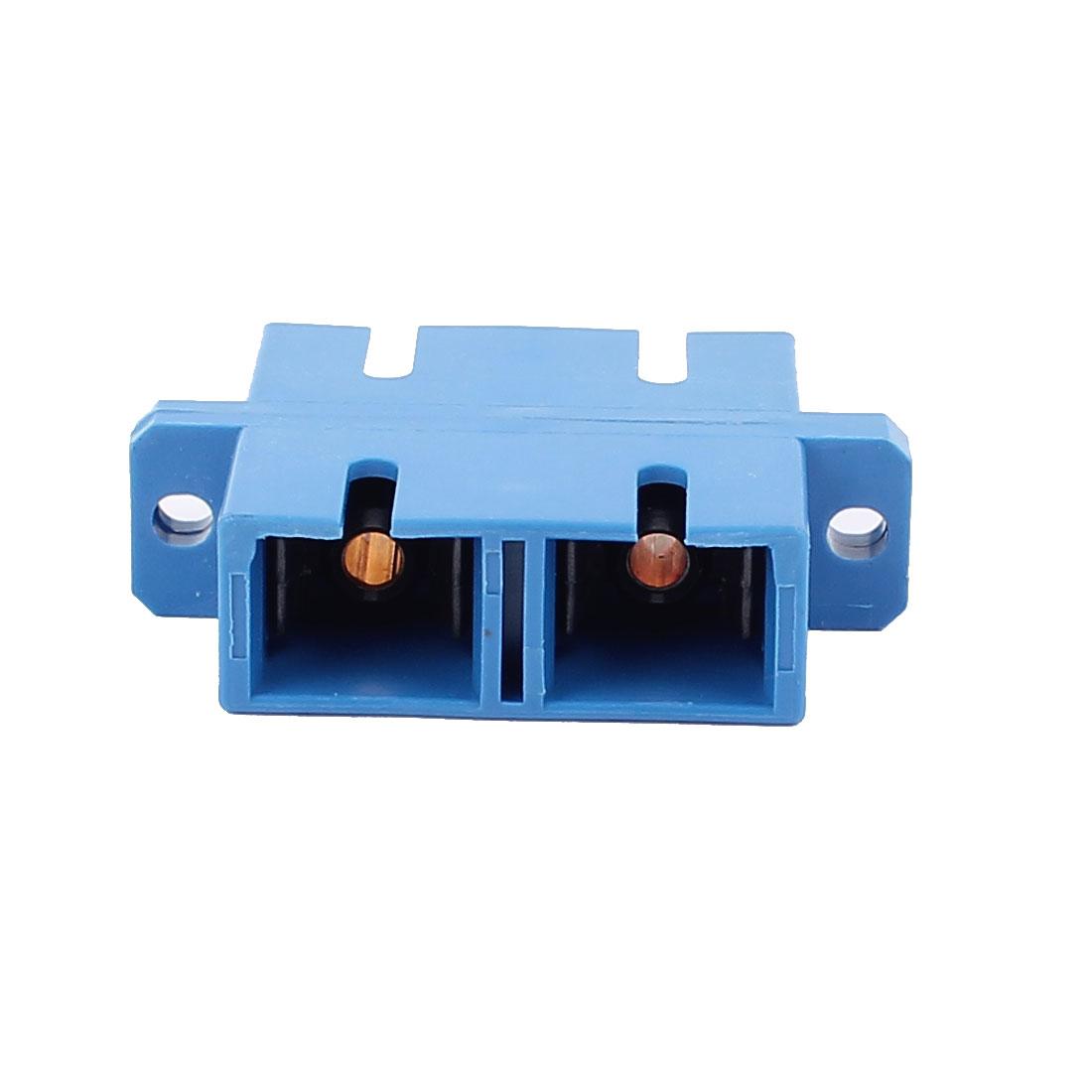 SC-SC Duplex MM/SM Fibre Optical Connector Bare Fiber Optic Adapter
