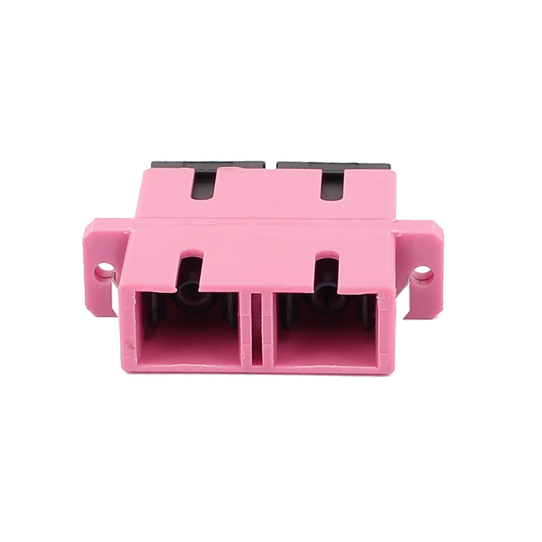 SC-SC Duplex MM SM Fiber Optical Flange Adapter Cable Connector