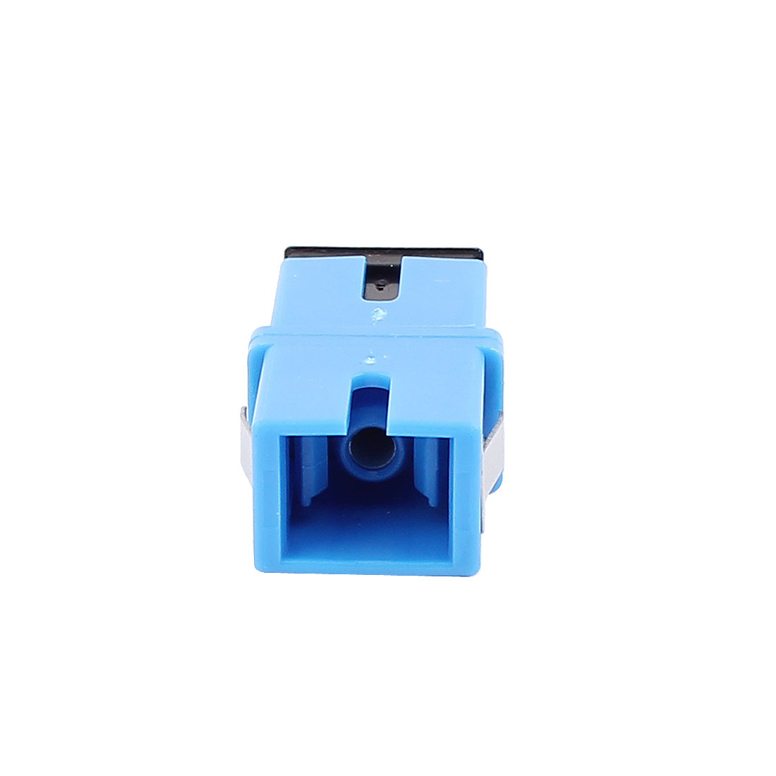 SC/SC Simplex MM SM Fiber Optical Flange Cable Connector Black Blue