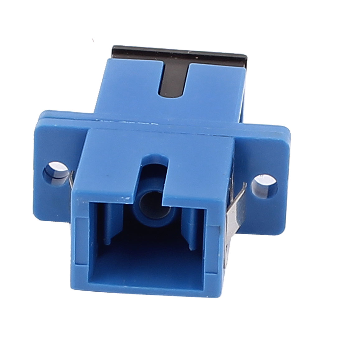 SC/SC Simplex MM SM Fiber Optical Flange Adapter Cable Connector Blue