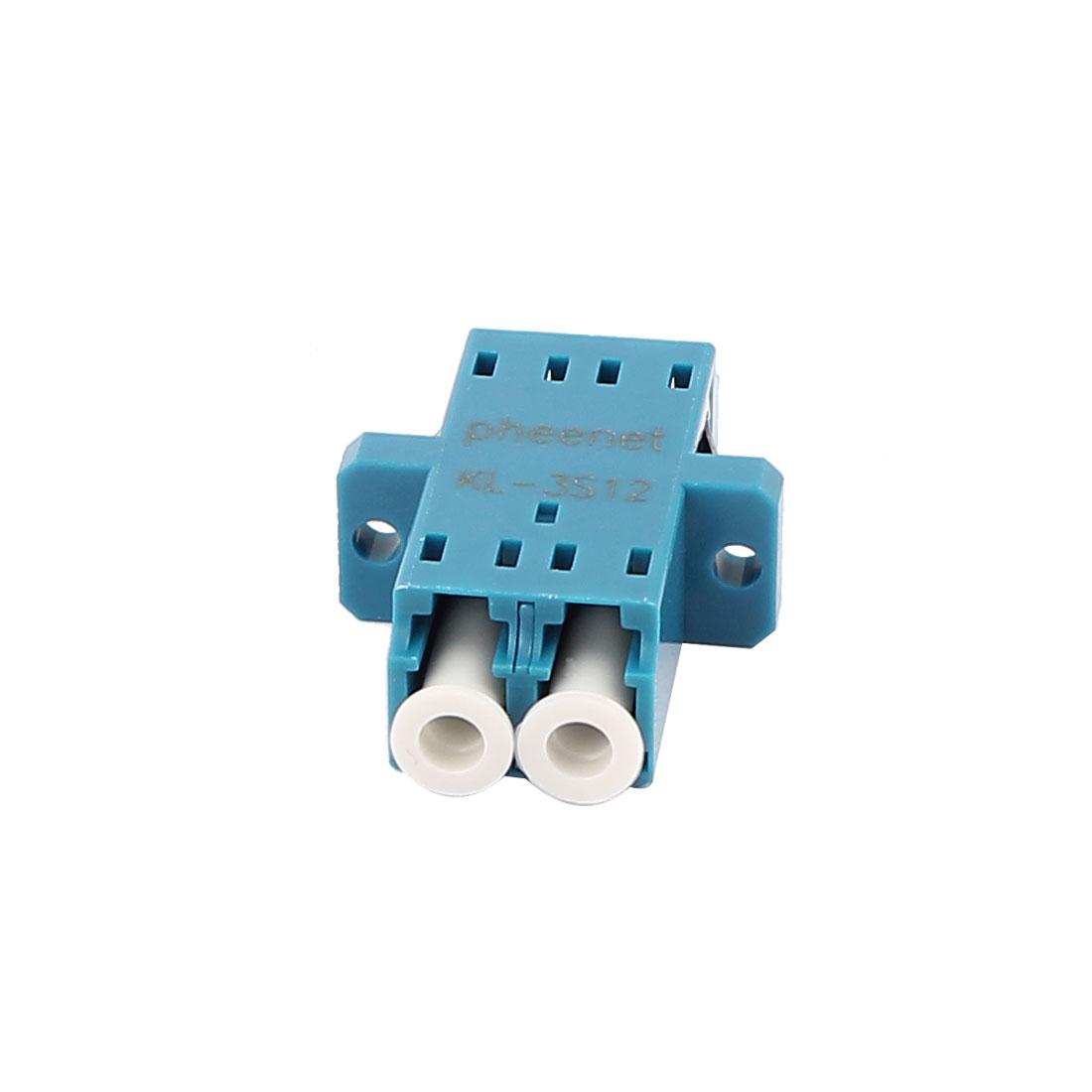 FTTH LC Duplex Singlemode Optical Duplexer Bare Optic Fiber Connector