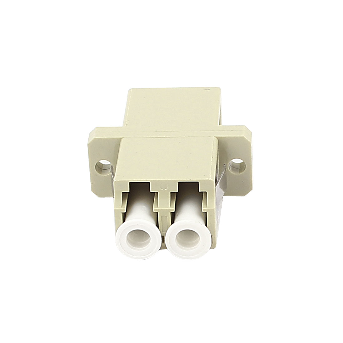 FTTH LC-LC Duplex Multimode Optical Duplexer Bare Fiber Optic Adapter
