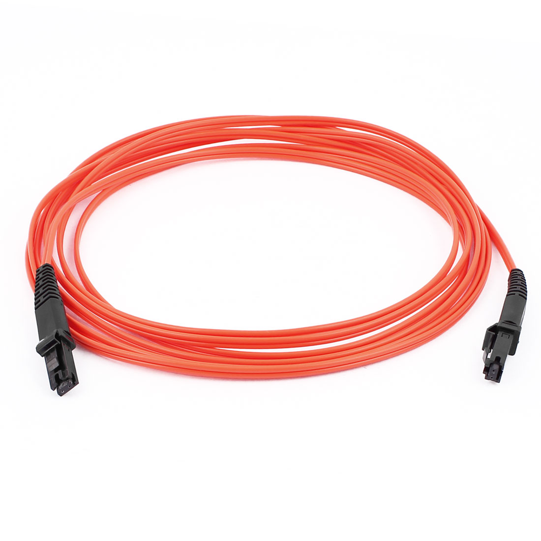 MTRJ-MTRJ 50/125 Duplex Multimode Optic Fiber Optical Cable Red 3.0M