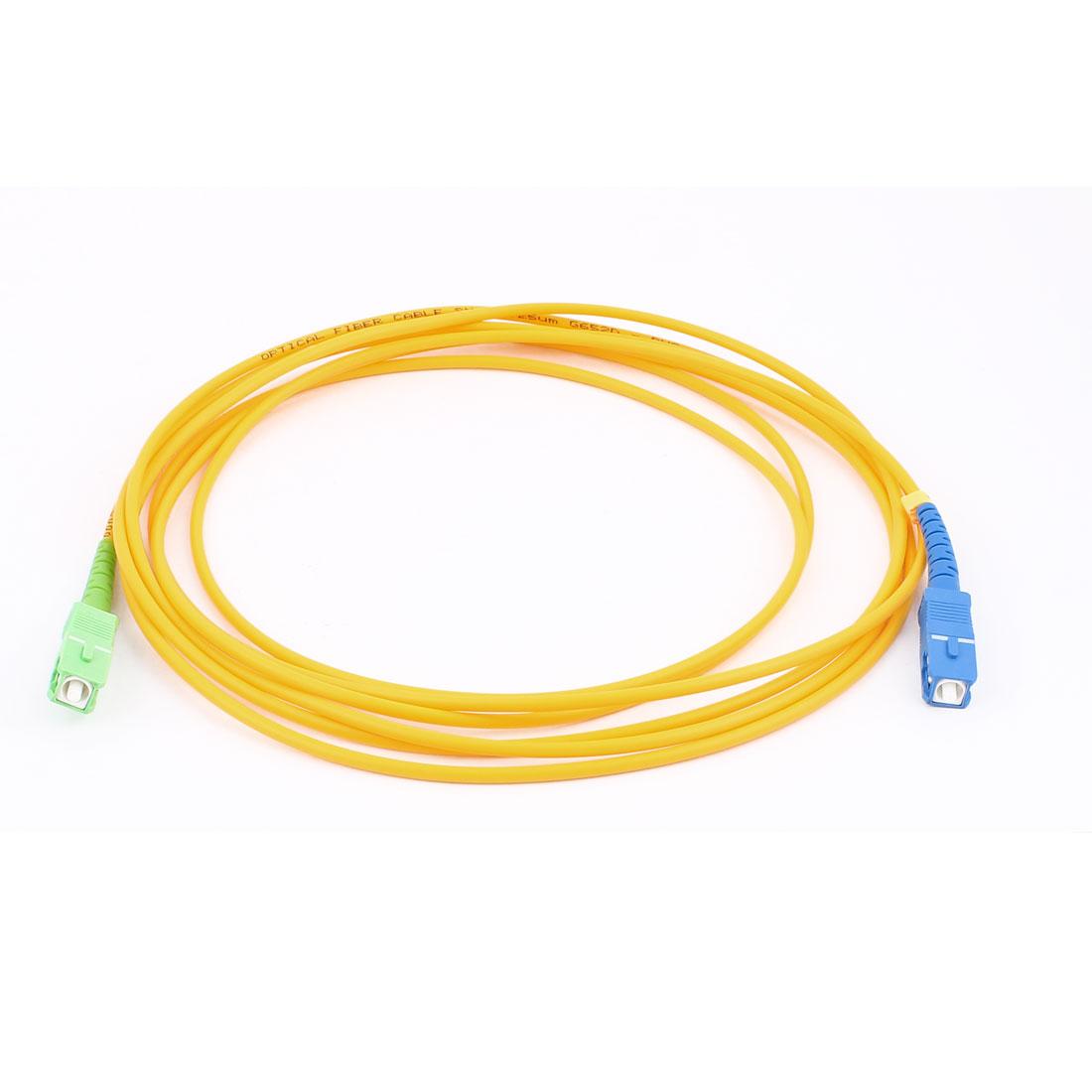 3.0M 9/125 Jumper Cable Simplex Singlemode SC-SC Fiber Optic Cord
