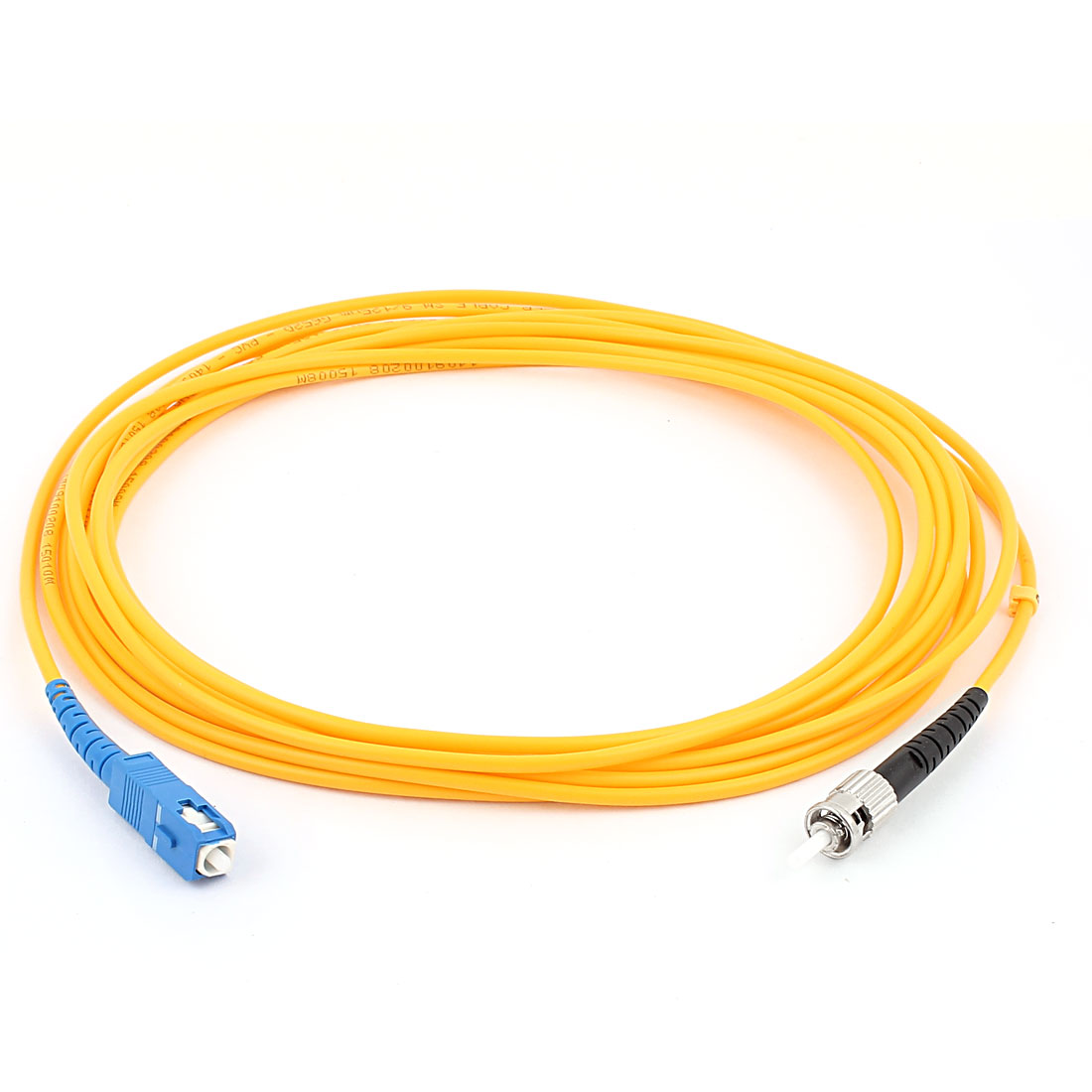 5M Jumper Cable Simplex Singlemode ST-SC Optical Fiber Patch Cord