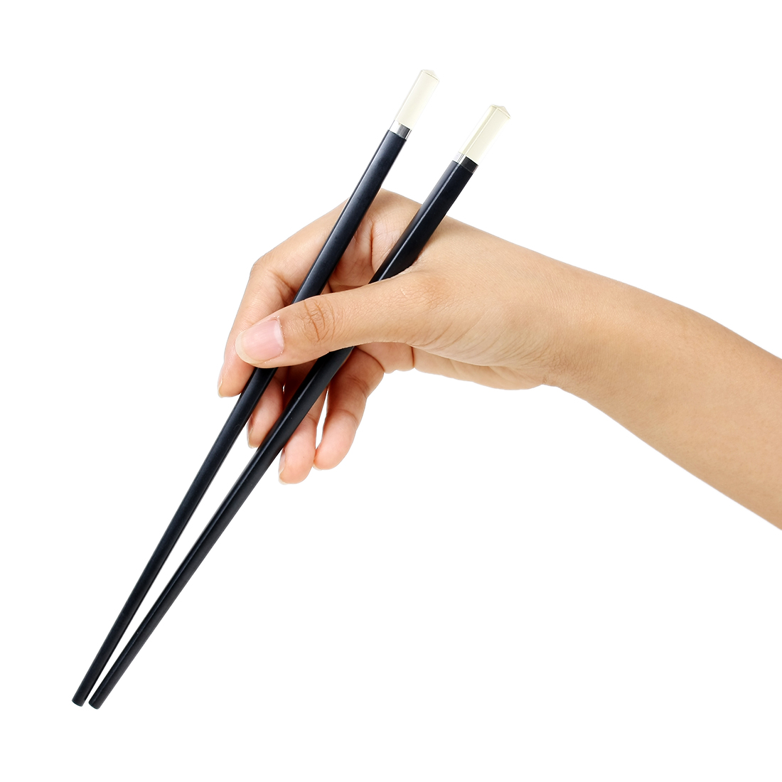 Casa-J Plastic Chinese Kitchen Tableware Chopsticks Pair 24.5cm Length