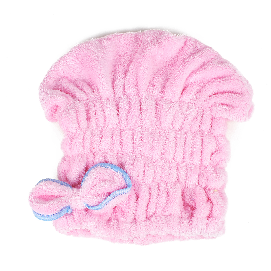 Women Bowknot Hair Drying Towel Hat Cap Head Wrap Super Absorbent Dry Hair Cap
