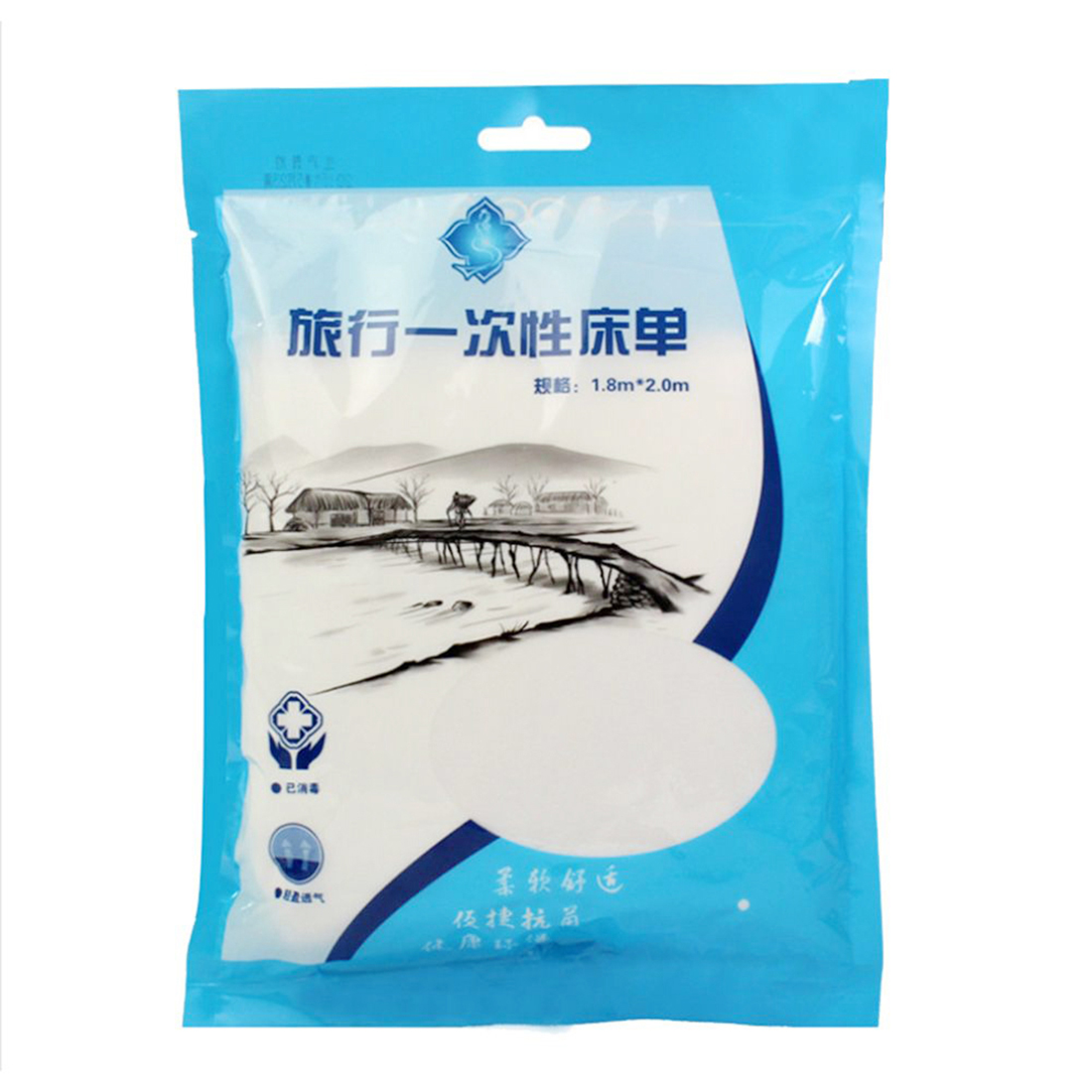 Non-woven Disposable Travel Hotel Pillow Cover Slip Case Pillowcase