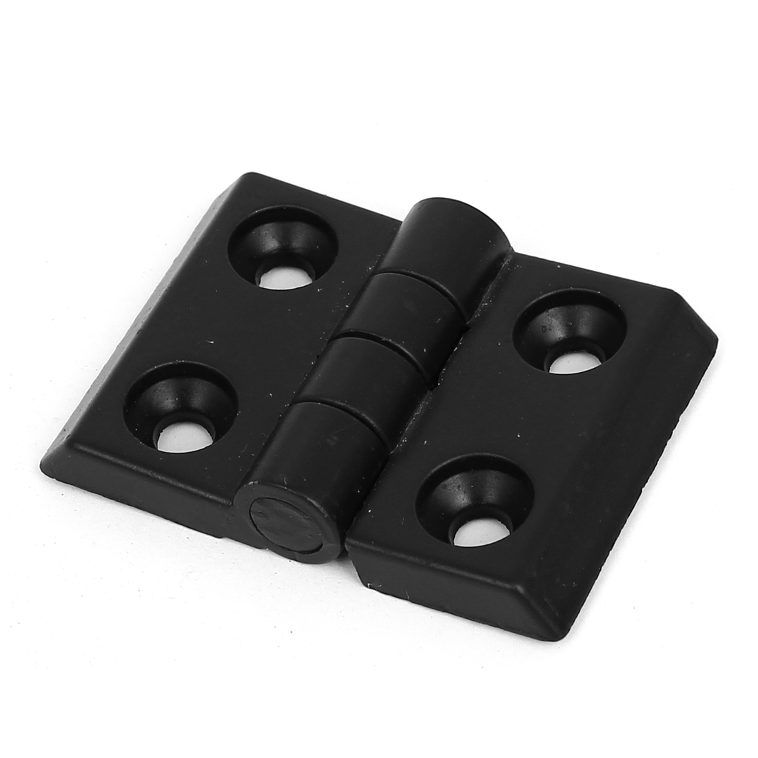 35mm x 24mm 2 Leaves Foldable Rotatable Zinc Alloy Bearing Butt Hinge Black