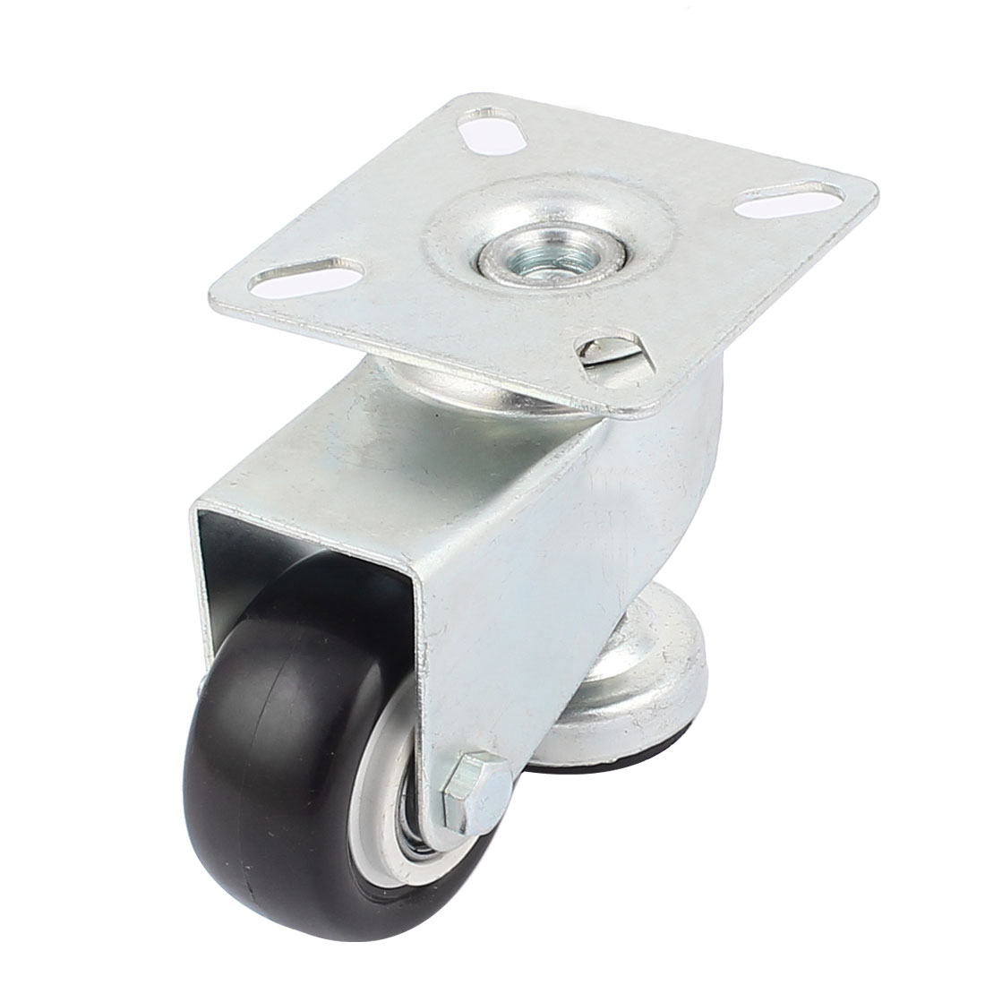 Shopping Trolley Rectangle Top Plate 360 Degree Rotary Adjustable Caster Wheel