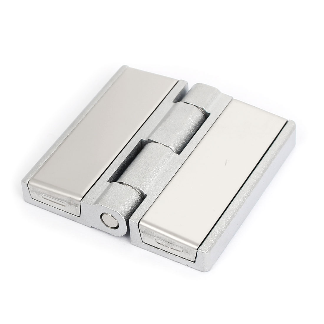 Cabinet Closet Tool Box Rotatable Metal Door Butt Hinge Silver Tone