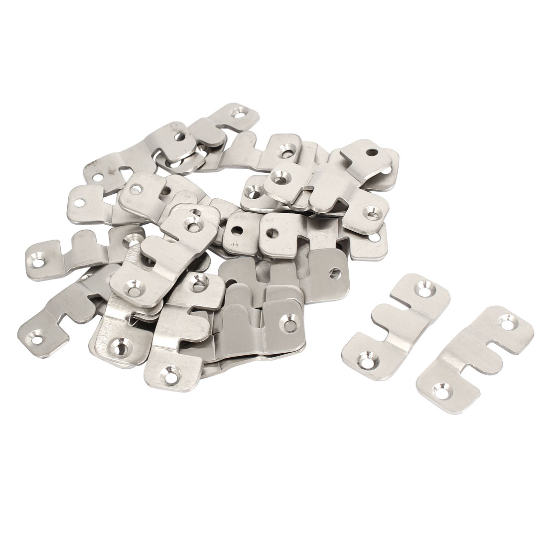 Sofa Furniture Photo Frame Interlocking Connector 44mm Length 30pcs
