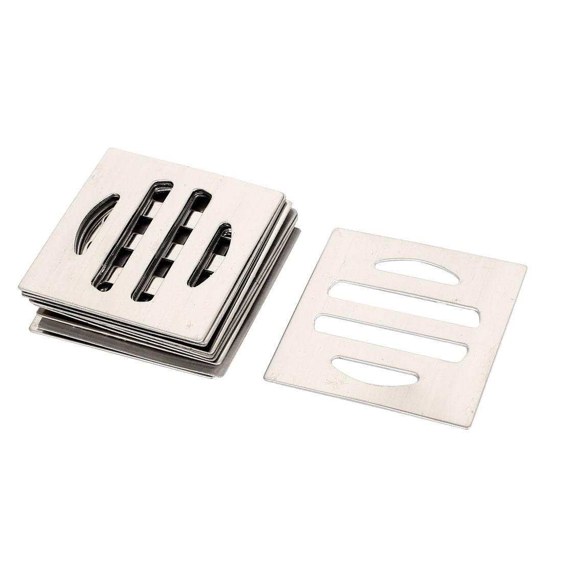 5cm x 5cm Width Metal Water Leak Floor Drain Grate Cover 10 Pcs